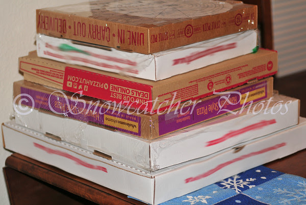 pizza box graveyard