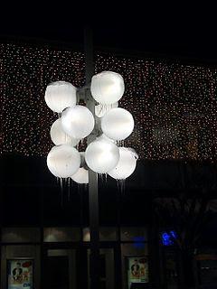 Street Lights Oberschleissheim Winter