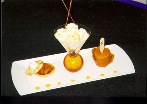 Pastry Chef David Jeffries   Plated Desserts