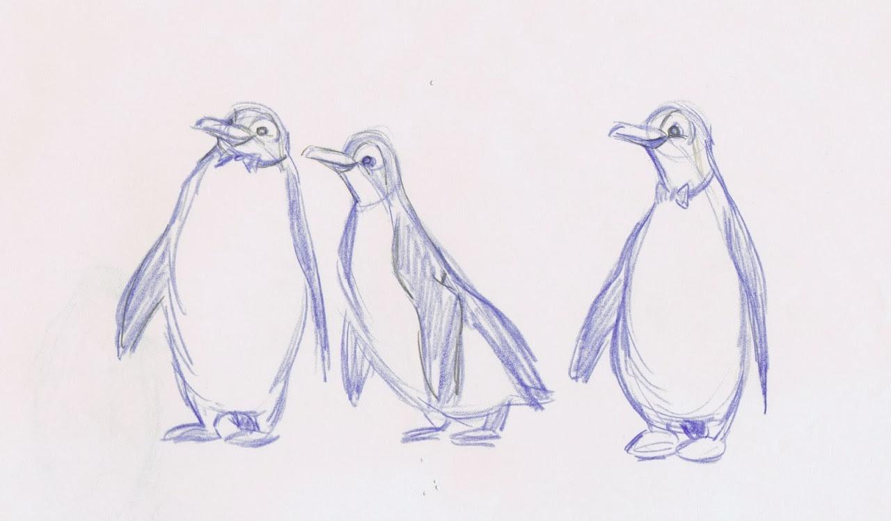 Disney Animation Concept Art Mary Poppins 2d Character Design Milt