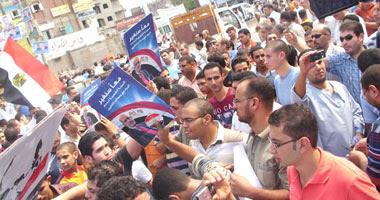 الشرقية تشهد أول مصادمات بين أنصار البرادعى وجمال مبارك