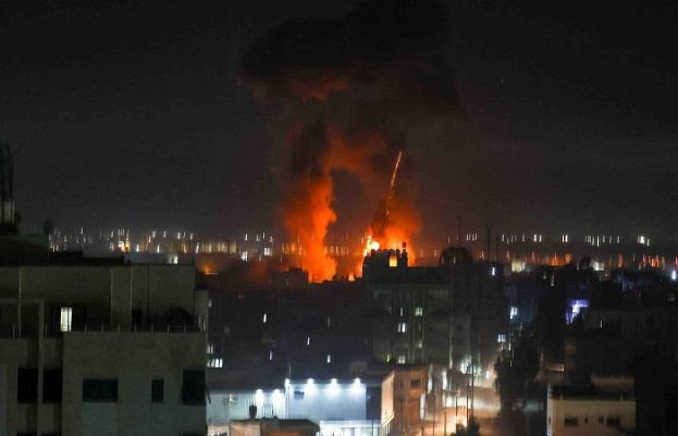Israeli airstrikes target Gaza sites, first since May 21 ceasefire   world news of today