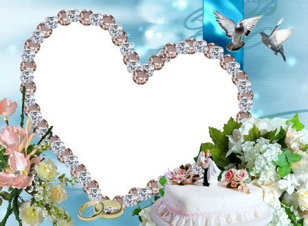 Types 12 wedding photo frames for photoshop free download