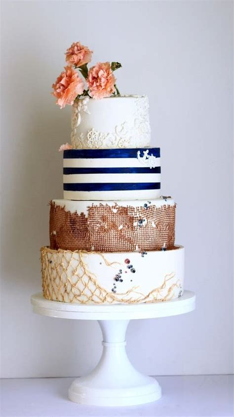 1000  ideas about Nautical Cake on Pinterest   Shower