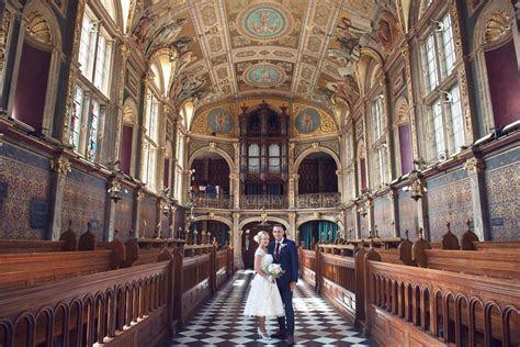 Wedding photography at Royal Holloway College