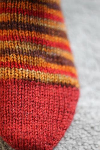New socks for Henk
