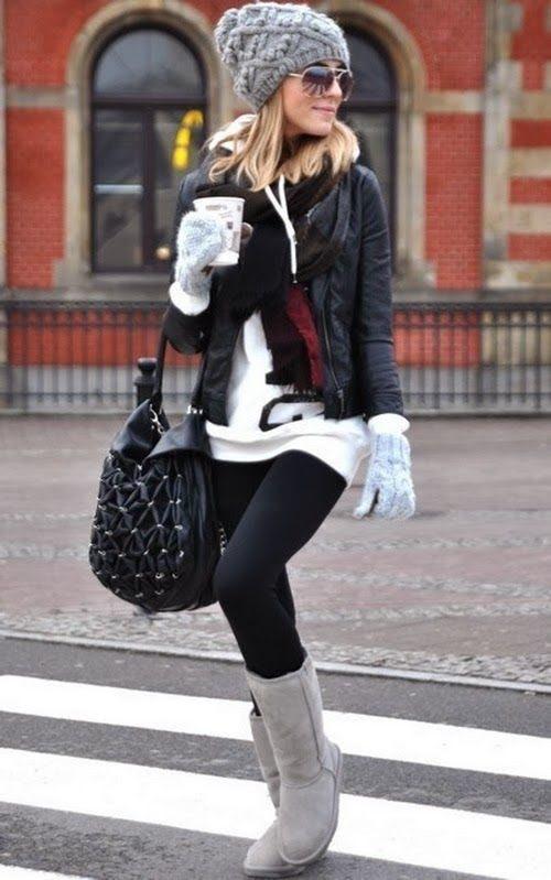 cute winter street style | winter street styles