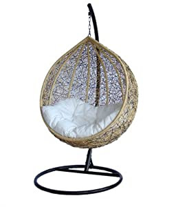 Amazon.com: Trully - Outdoor Wicker Swing Chair - The Great ...