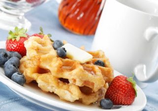 Picture of Waffle Breakfast - Tipnut.com