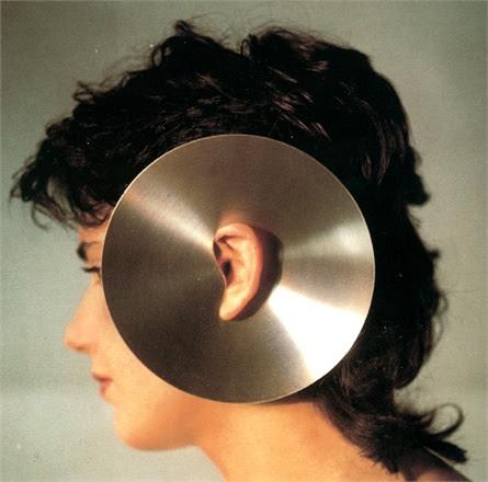 Getulio Alviani, Monorecchino a disco