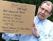 Dave Ismay con la sua «Bucket list»