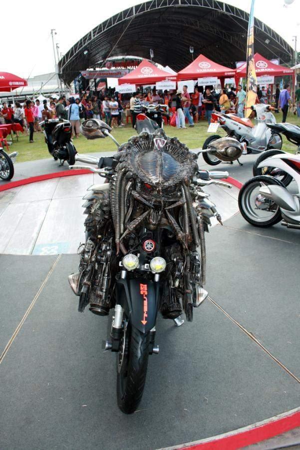 21 Modifikasi Sepeda Motor Aneh dan keren banget!