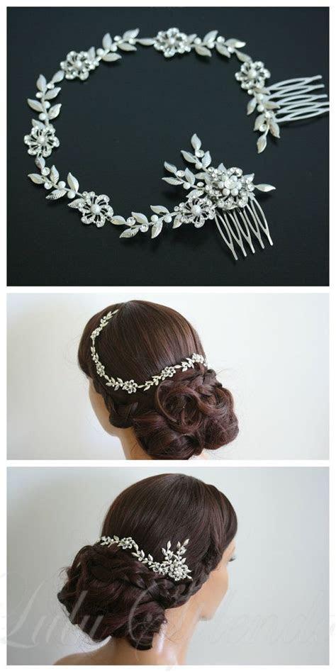 Bridal Hair Vine Wedding Hair Accessory Vine Leaf