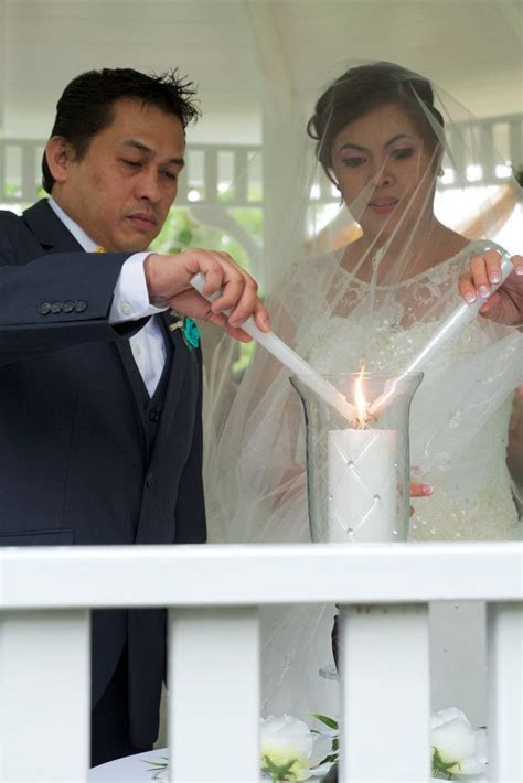 Traditional Filipino: Veil,Cord and Coins Wedding Ceremony