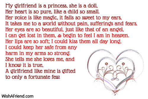 Poems For Girlfriend