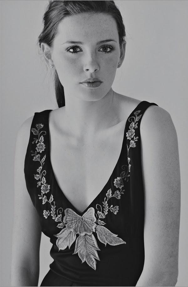Hayley, B&W fashion photography