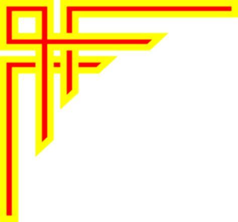 garis merah  kuning keren clip art  clkercom