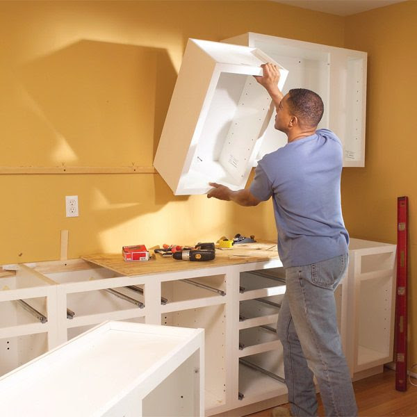 Installing Kitchen Cabinets: The Family Handyman