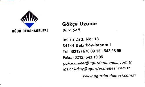 UĞUR SBS Dershanesi Bakırköy İstanbul