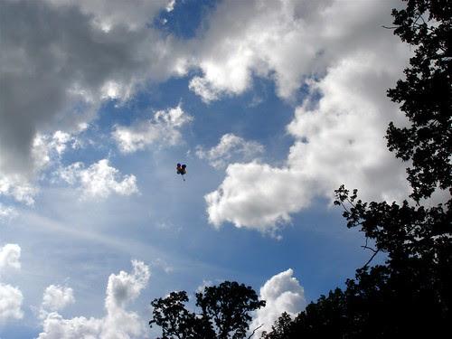 Balloons escape