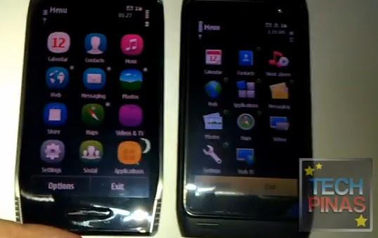 symbian^3 vs symbian anna^