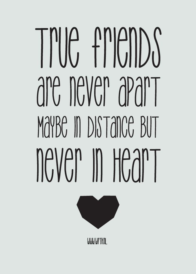 Best Friends Distance Quotes