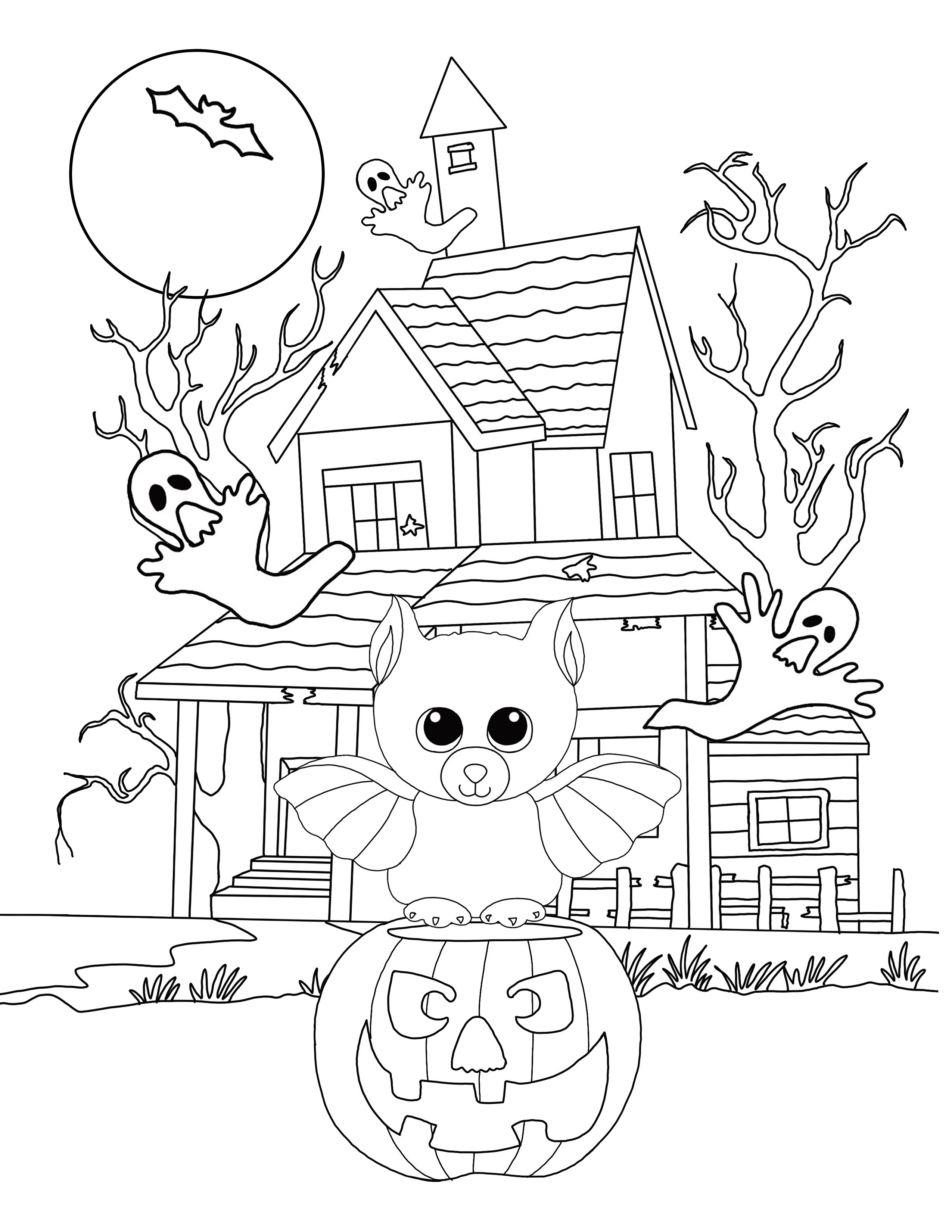 Free Beanie Boo Coloring Pages Download & Print: Cats ...
