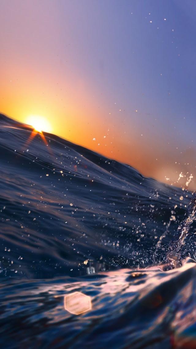 Wallpaper Sea, 5k, 4k wallpaper, 8k, Ocean, Water, sunset ...