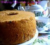 BLUEBERRY CHIFFON CAKE.