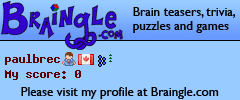 Brain teasers, riddles and trivia