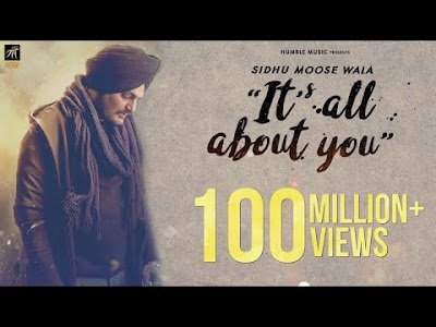 Its All About You Lyrics – Sidhu Moose Wala   Punjabi Love Song 2018