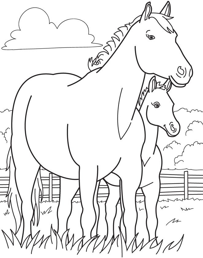 Horse Racing Coloring Pages at GetColorings.com | Free ...