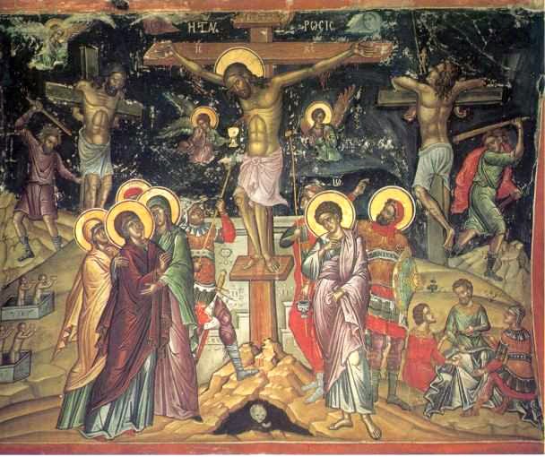 Fichier:Crucifixion by Theophanes the Cretan.jpg