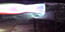 Here's a Fiery Glowing Test of the New SpaceX Raptor Engine