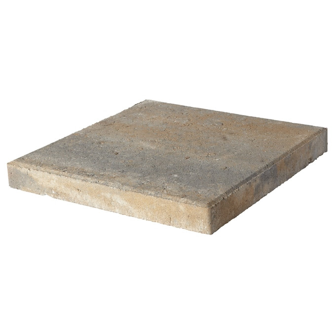 Pavestone 16x16 Square Yukon Smooth Concrete Patio Stone Common 16 In X 16 In Actual 16 In X 16 In In The Pavers Stepping Stones Department At Lowes Com
