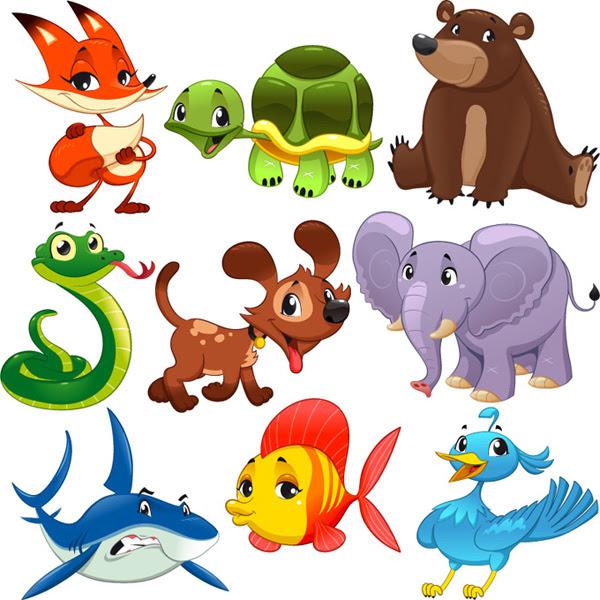 80 Gambar Karikatur Hewan Dan Tumbuhan HD
