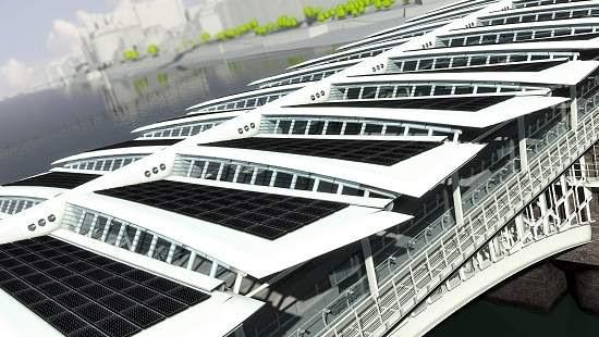 Começa a ser construída primeira ponte solar do mundo