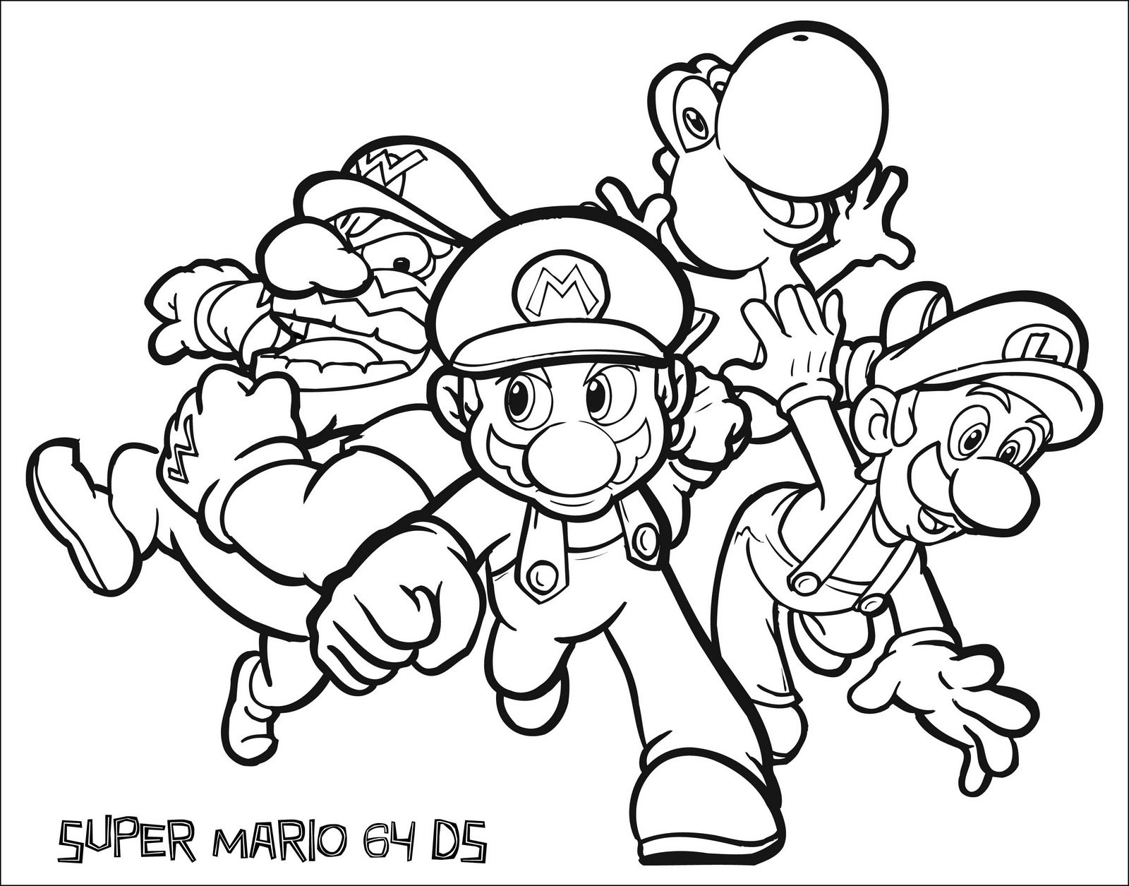 1 Sınıf Boyama Kağıtları Etkinlikleri Süper Mario Dersodevicom
