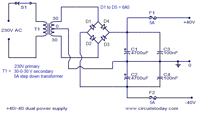 Stk4141 Amplifier Circuit Diagram Circuit Diagram Images