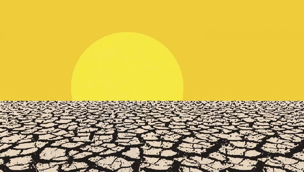 Los datos de temperaturas medias globales indican que llevamos once meses seguidos batiendo récords con temperaturas cada vez más altas.
