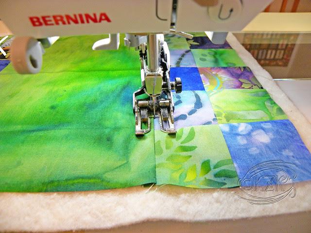 DSCN2335 Fabric Basket in progress