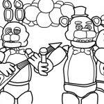 Dibujos De Five Nights At Freddy Para Colorear A Lapiz A Color