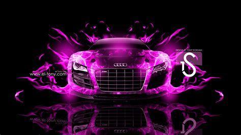 Audi R8 Fire Car Abstract 2013   el Tony   Part 3