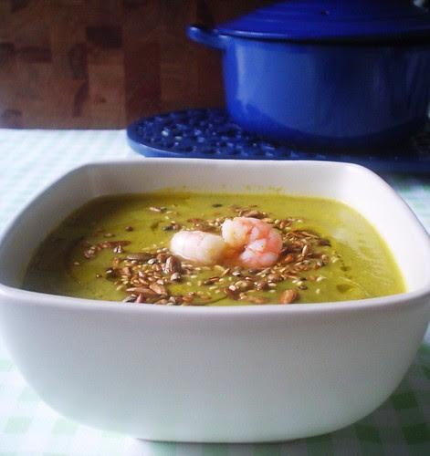 Courgette&Leek Soup