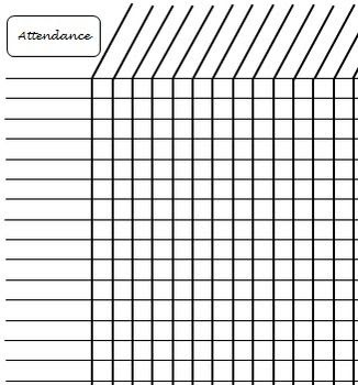 1000+ ideas about Attendance Sheets on Pinterest | Taking ...