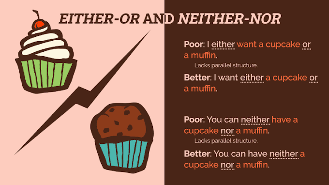Either-Or, Neither-Nor: How to Use Correctly