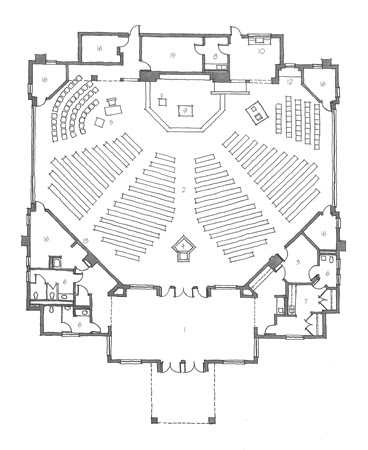 Modern Church Building Design Plans