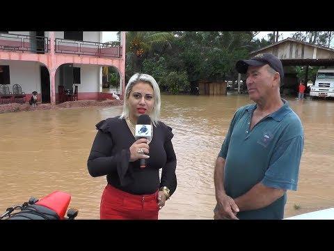 Urgente: Reportagem Enchente em Alta Floresta deixa famílias desabrigadas Ro