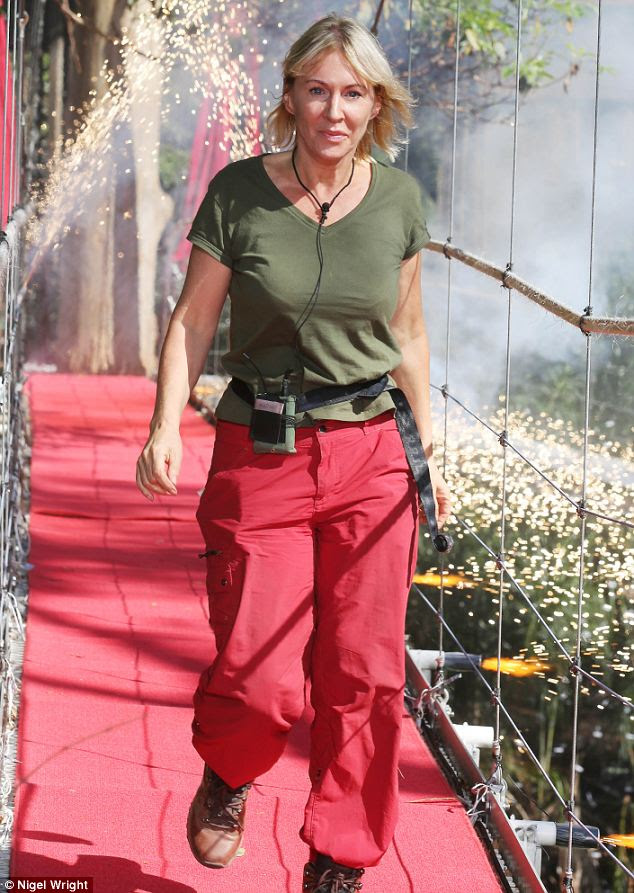 Ratings boost: Although she was the first to be voted out of the jungle, her departure received 10m viewers