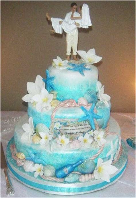 Cheap Wedding Cake Toppers Beach Theme With Beach Theme